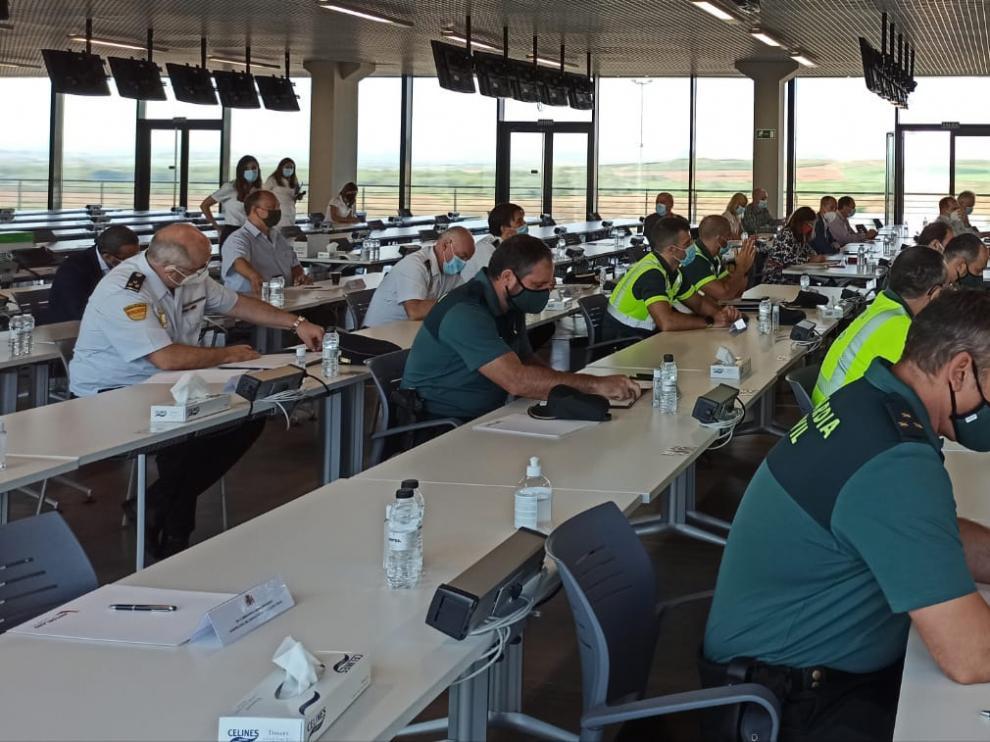 Este jueves tuvo lugar en Motorland la última Junta de Seguridad para organizar el Gran Premio Moto GP