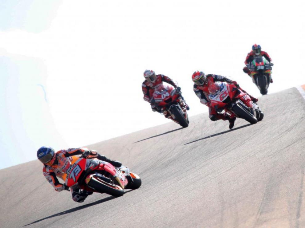 Gran Premio de Aragón de Moto GP.