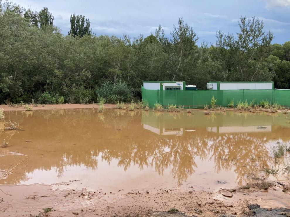 Las tormentas dejan a Mozota sin Bosque Sonoro