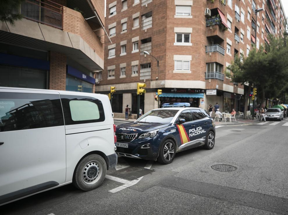 La Policía detuvo al presunto agresor en el lugar de los hechos y el herido fue atendido de lesiones graves.
