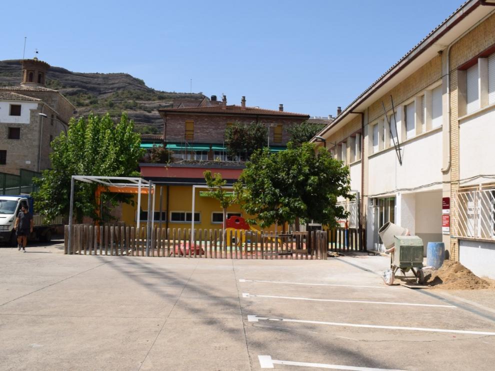 Antiguo instituto, al que serán trasladados parte de los alumnos.