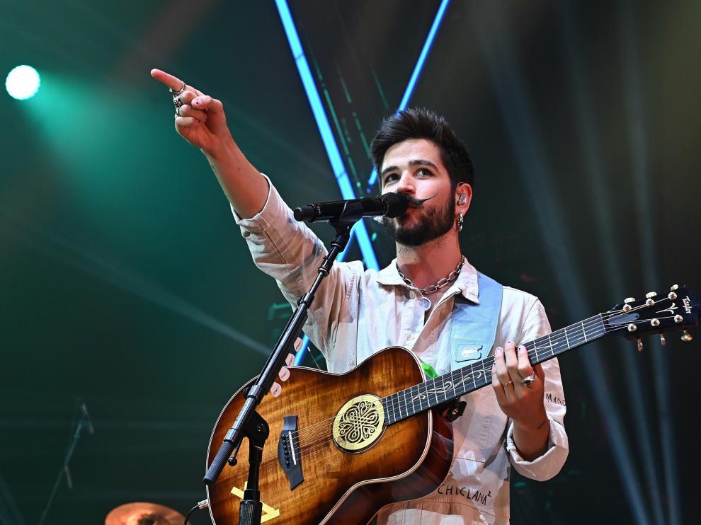 Camino en concierto en Madrid