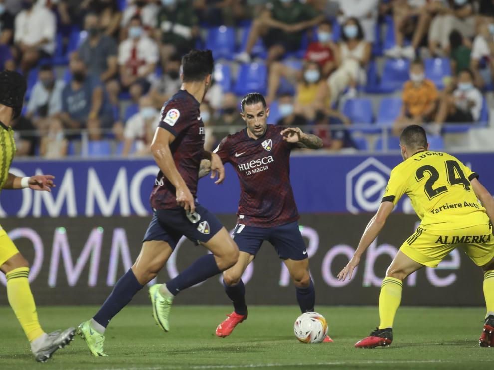 Foto partido SD Huesca-Real Oviedo, cuarta jornada de Segunda División