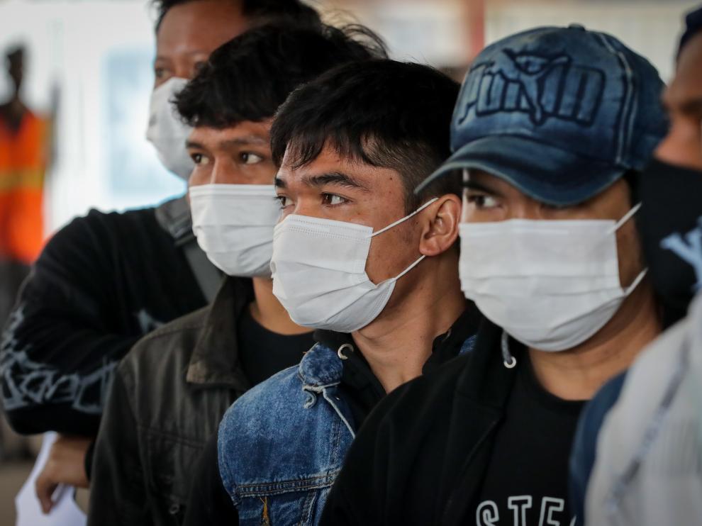 Jornada de vacunación a tripulantes de barcos extranjeros en Montevideo