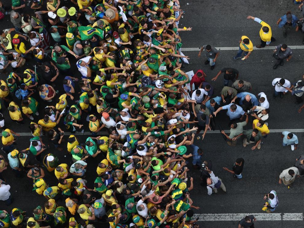 Bolsonaro amenaza al Supremo durante masiva manifestación de la ultraderecha