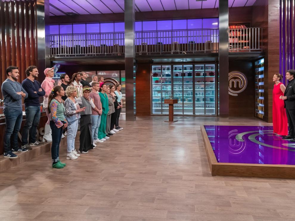 Imagen de la primera entrega de 'MasterChef Celebrity 6'.