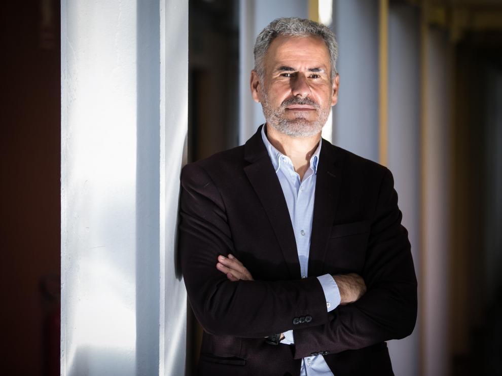 Javier Pardiño, director de la planta de Becton Dickinson en Fraga y vicepresidente de Operaciones de la multinacional