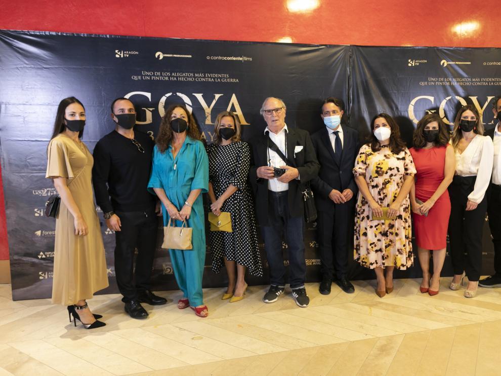 Carlos Saura presenta en el Museo del Prado el cortometraje 'Goya, 3 de mayo'