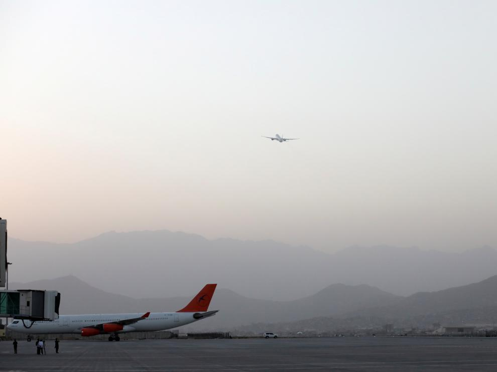 First international flight since the withdrawal of U.S. troops takes off from the international airport in Kabul