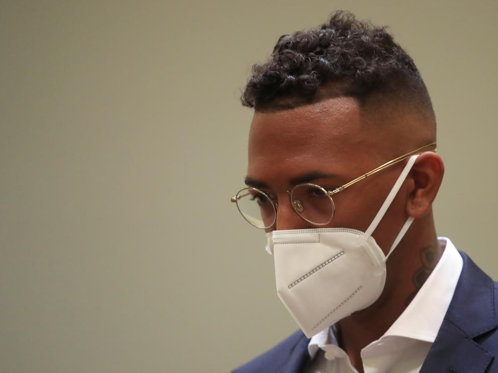 Jerome Boateng trial in Munich