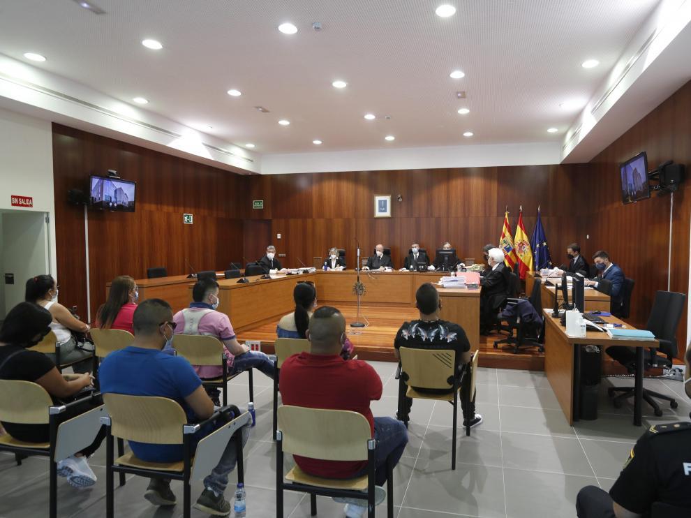 El juicio se celebró en la Audiencia Provincial de Zaragoza