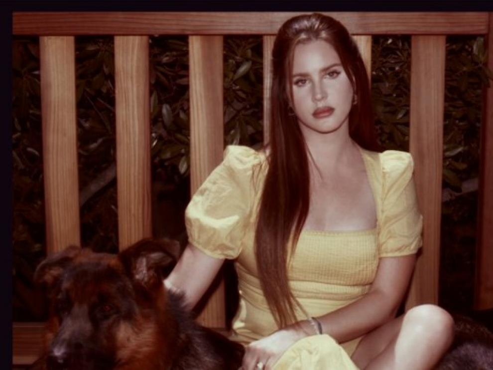 Imagen de nuevo disco de Lara del Rey.