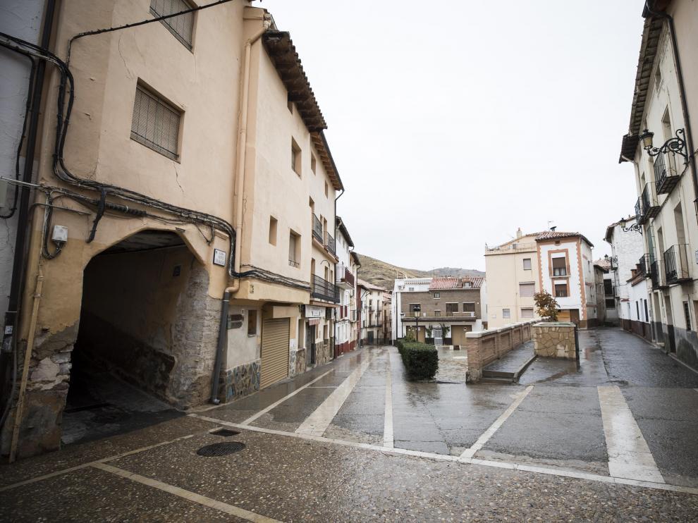 Montalbán, una de las localidades de la comarca Cuencas Mineras.