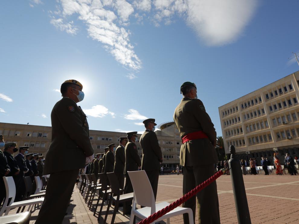 Acto del XXV aniversaario en la Delegación de Defensa en Aragón