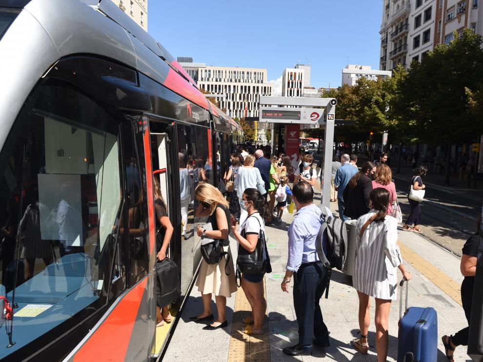 Segundo día de huelga del bus y del tranvía