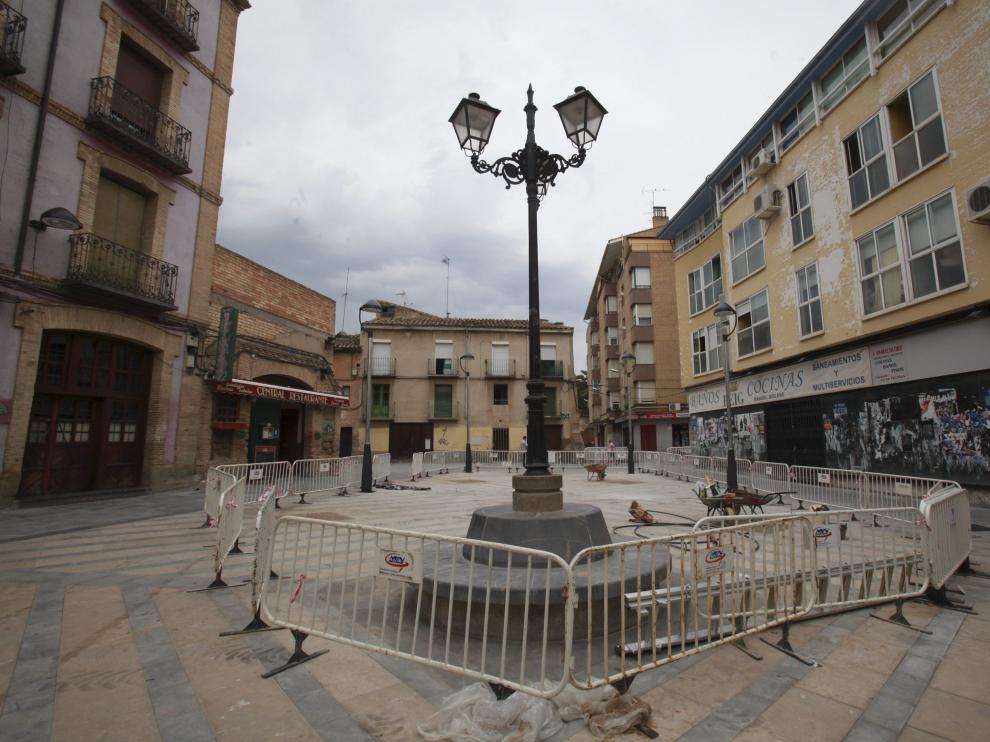 Los hechos ocurrieron la madrugada del sábado al domingo en la plaza de Nuestra Señora de Salas, en el Tubo de Huesca.