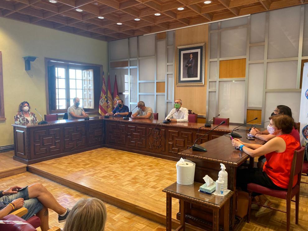 Reunión en el Ayuntamiento de Jaca, este viernes