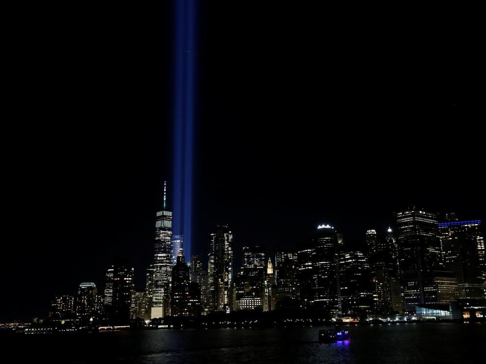 Tributo en Nueva York en el 20 aniversario del atentado a las Torres Gemelas