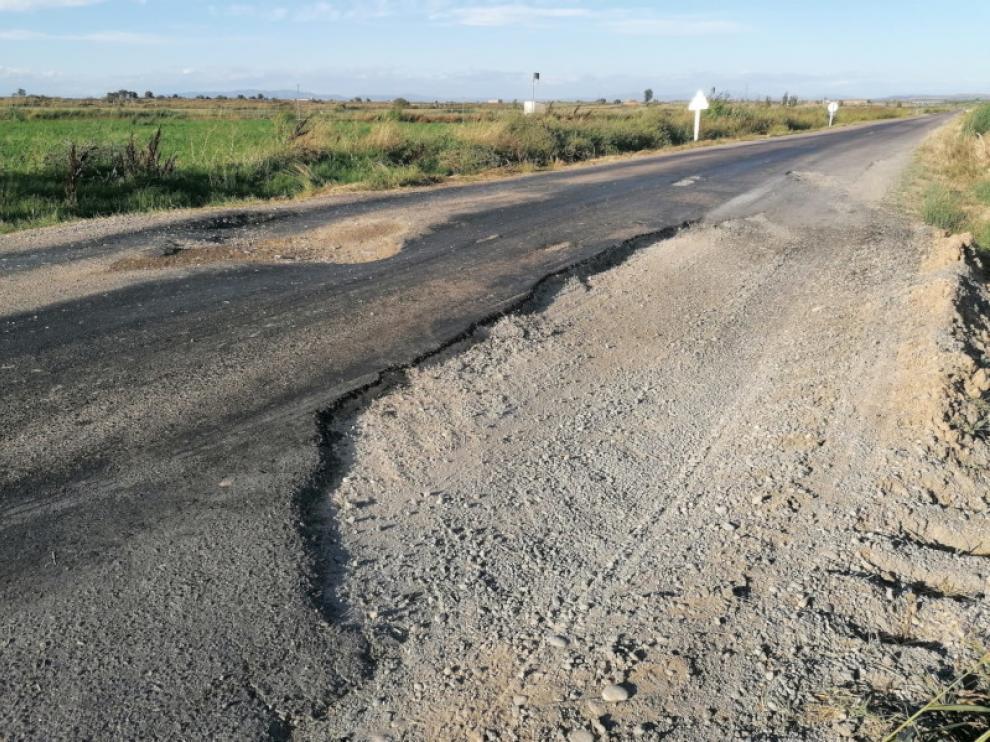 Estado actual de la carretera en alguno de sus tramos.