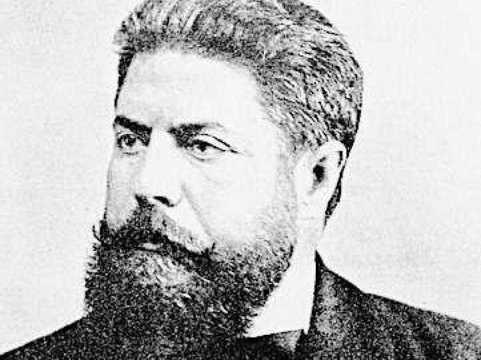 Retrato de Joaquín Costa