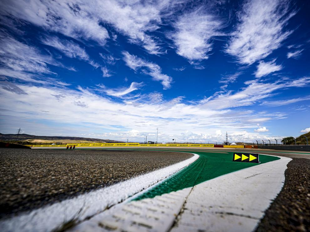 Segunda jornada del Gran Premio Tissot de Aragón de Moto GP