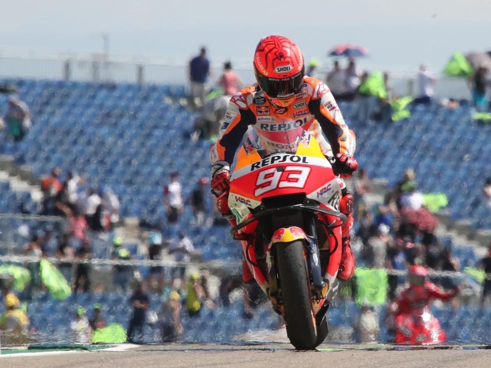 Gran Premio Tissot de Aragón: Marc Márquez