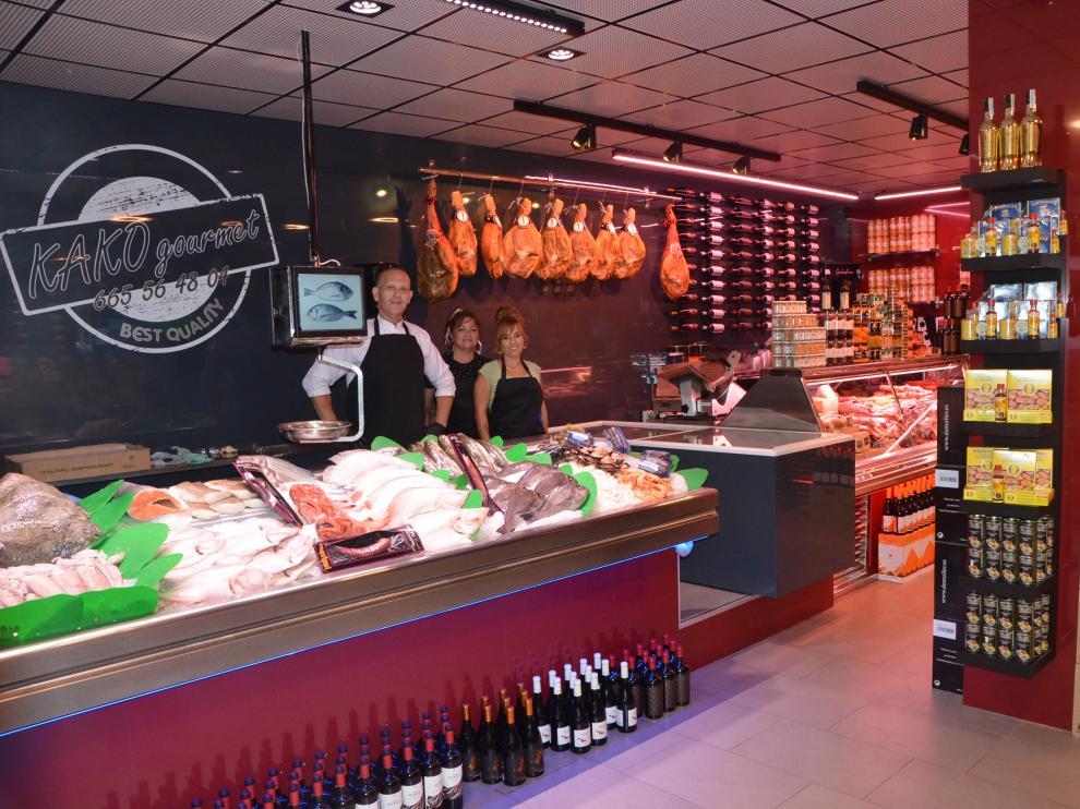 La pescadería y la carnicería de Kako Gourmet
