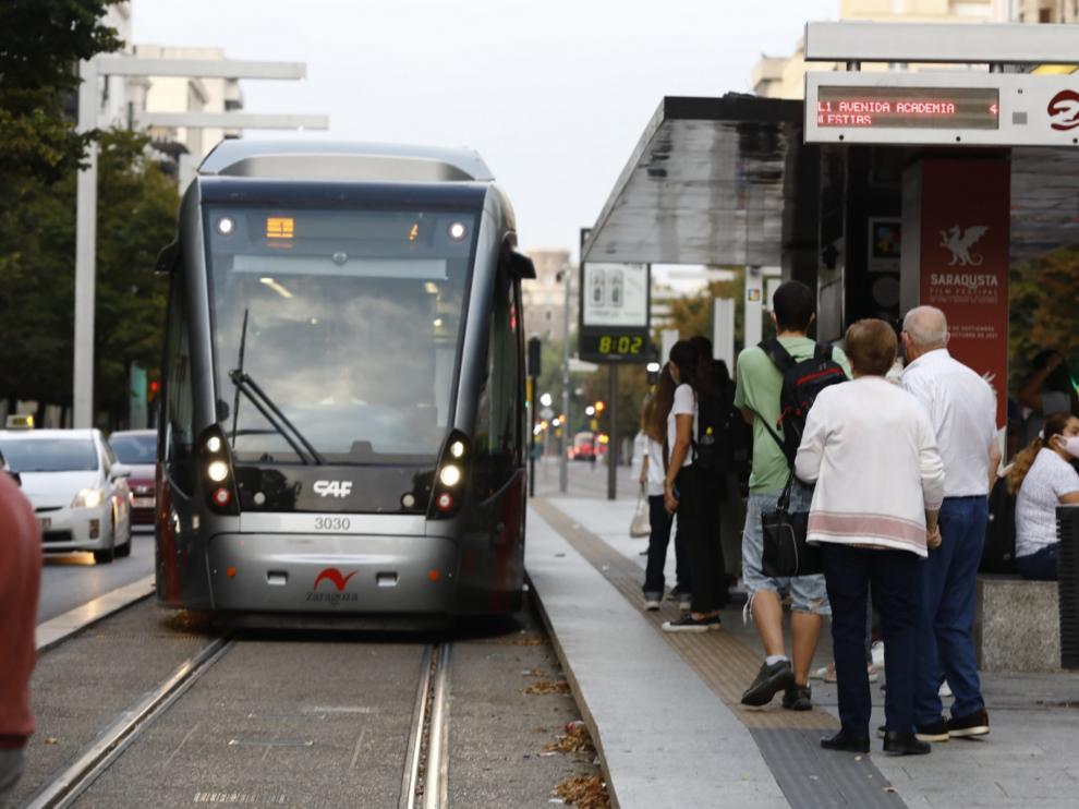 Huelga en el tranvía (martes 12 de septiembre)