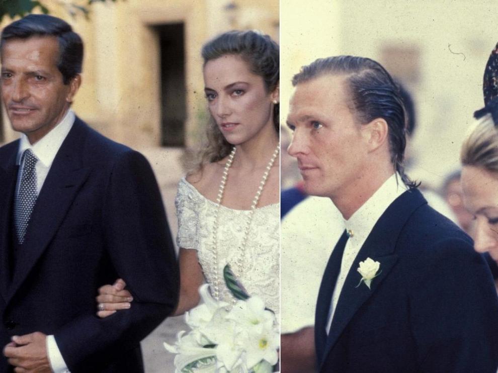Así fue la boda de 'Pocholo' y Sonsoles Suárez en el Monasterio de Piedra