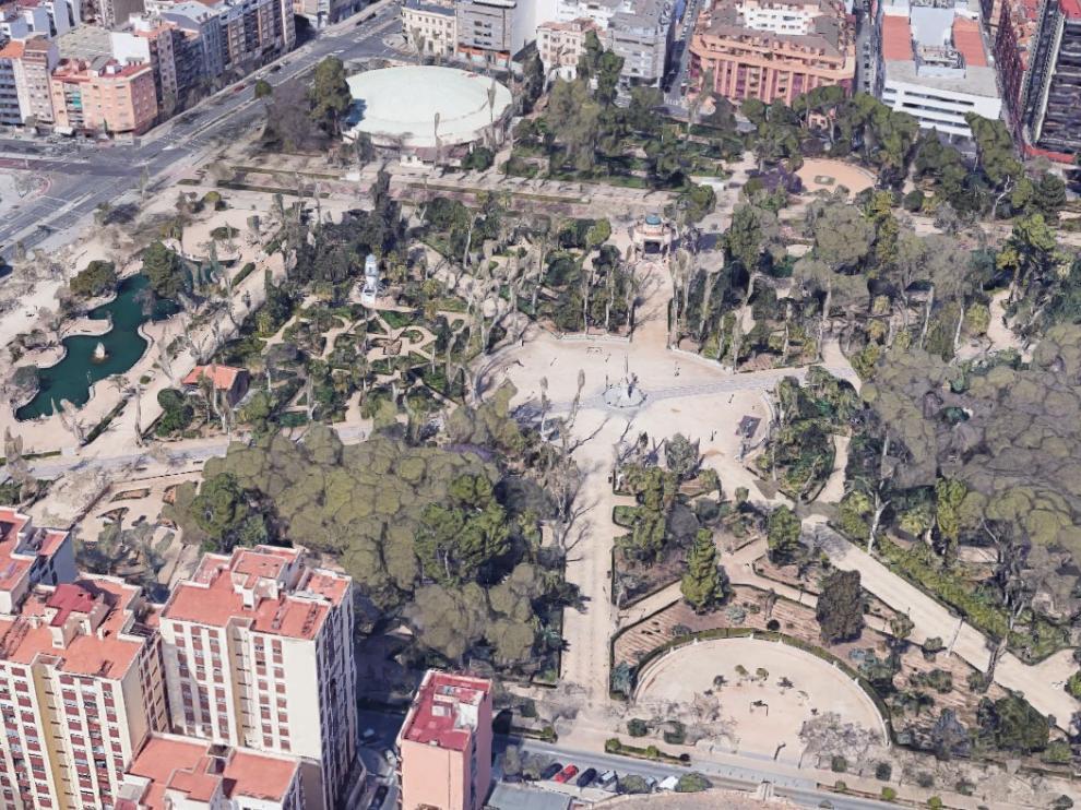 La reyerta ha ocurrido en la zona del Parque Ribalta de la ciudad.