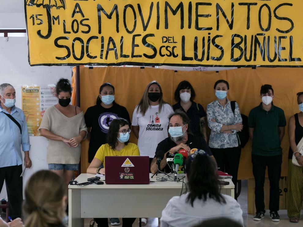 La asamblea del Luis Buñuel anuncia que recurre al Supremo su desalojo