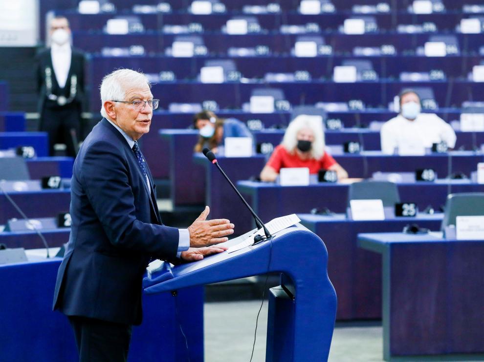 El alto representante de la Unión Europea (UE) para Asuntos Exteriores, Josep Borrell