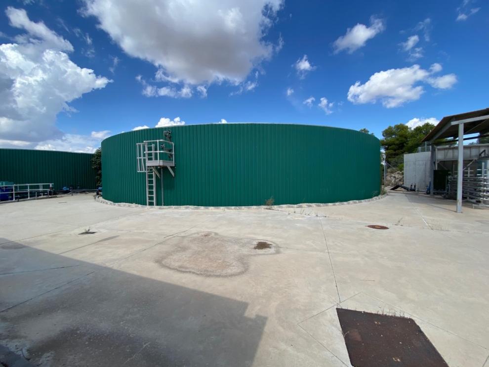 Las instalaciones de la planta de purines están terminadas e inactivas desde hace 11 años.