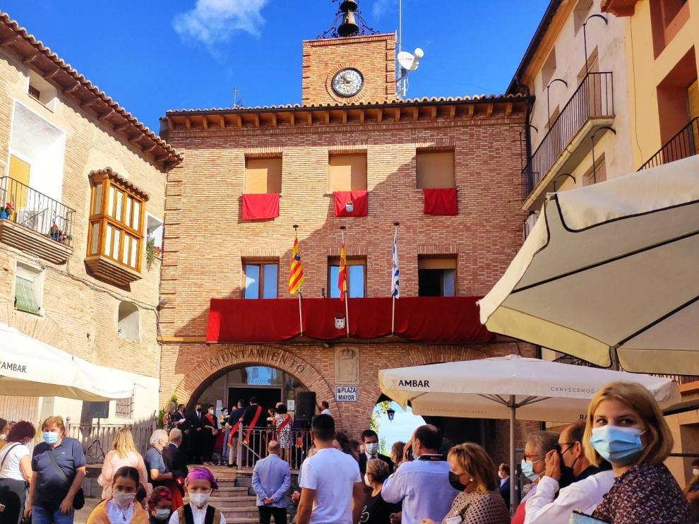 La XXXI Fiesta de la Vendimia se ha celebrado este miércoles en Ainzón.
