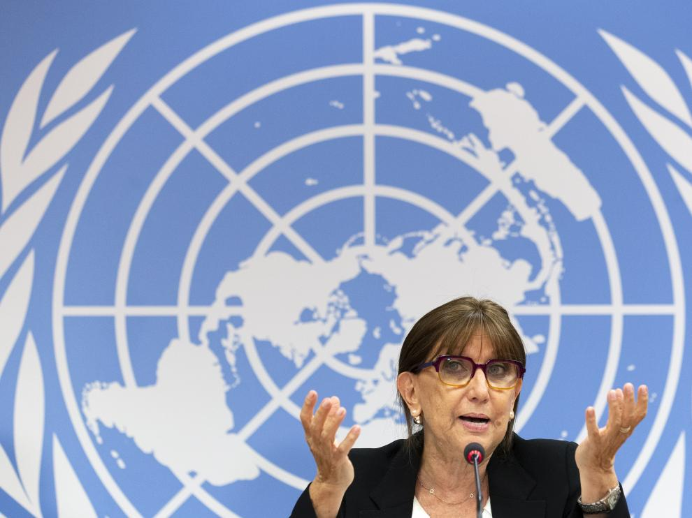 Newly appointed UNCTAD Secretary General Rebeca Grynspan
