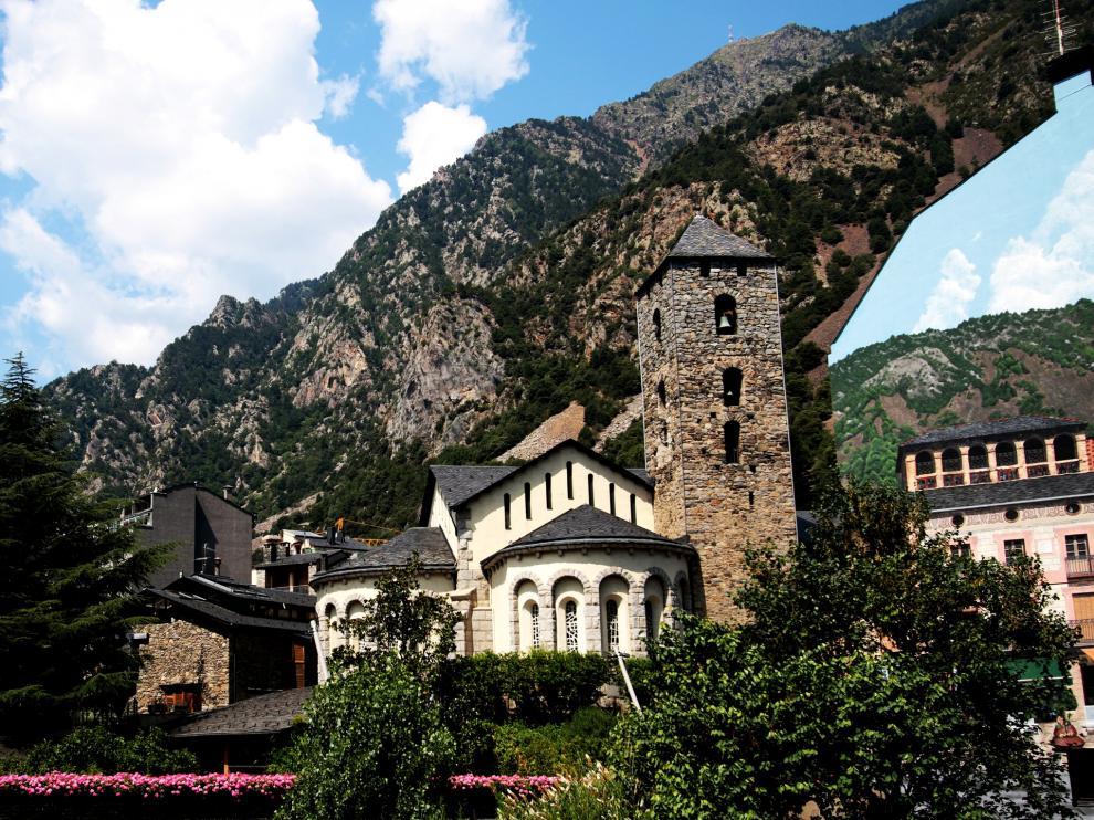 Una imagen de Andorra la Vella.