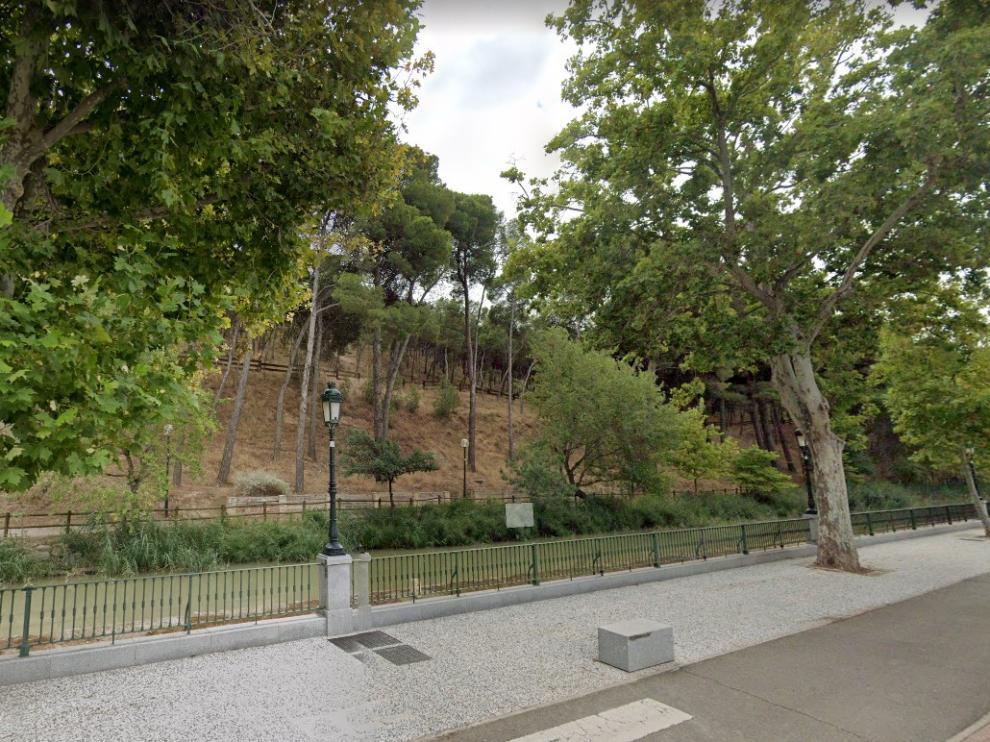 El suceso tuvo lugar en el entorno del Canal Imperial a su paso por Zaragoza.