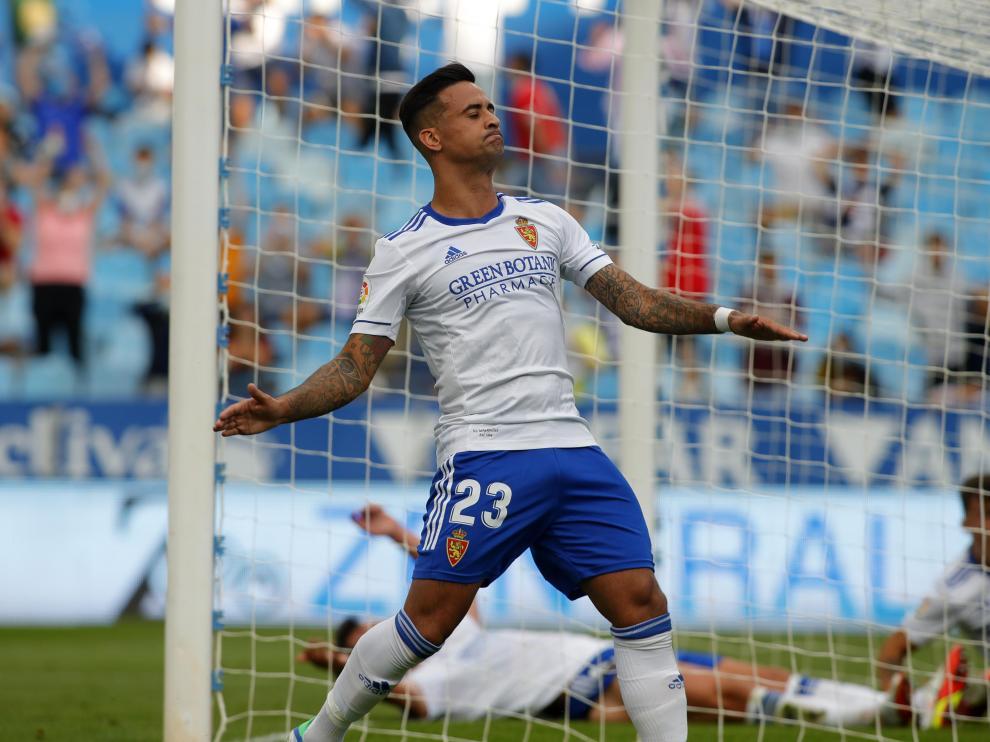 Partido entre el Real Zaragoza y el filial de la Real Sociedad