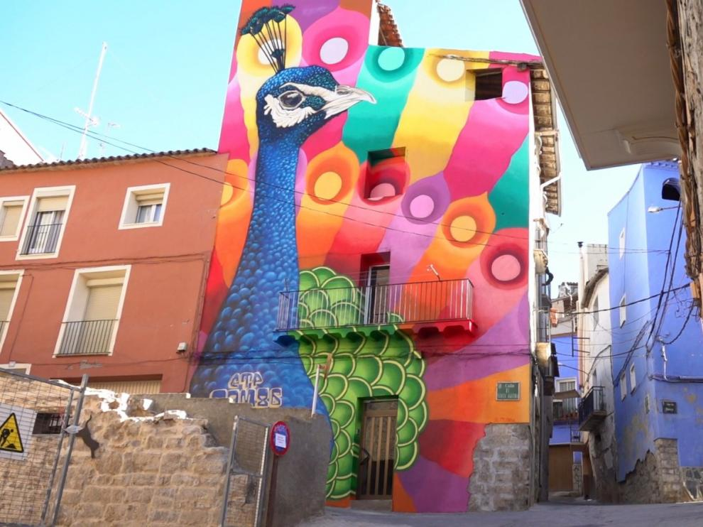 Mural de grafitti