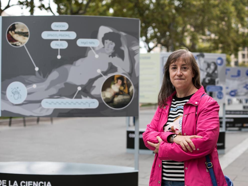 Josefina Pérez Arantegui, profesora titular de Química Analítica de la Universidad de Zaragoza.