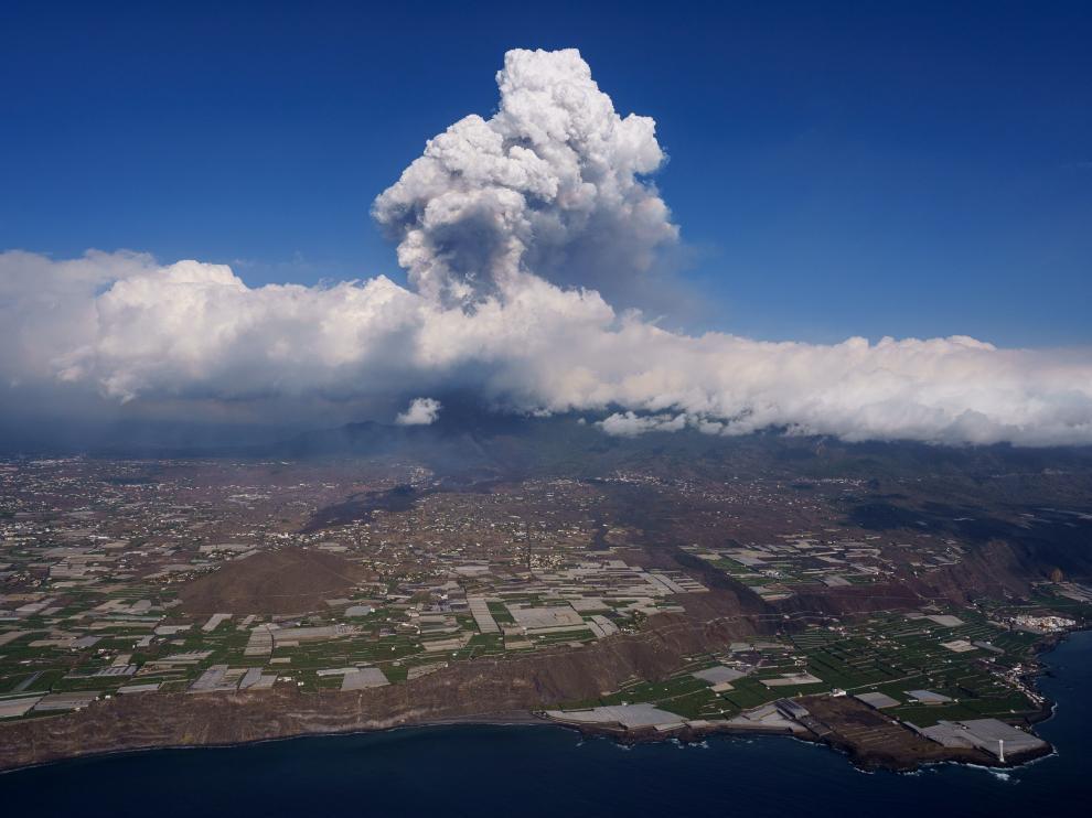 El volcán de La Palma en su quinto día de actividad
