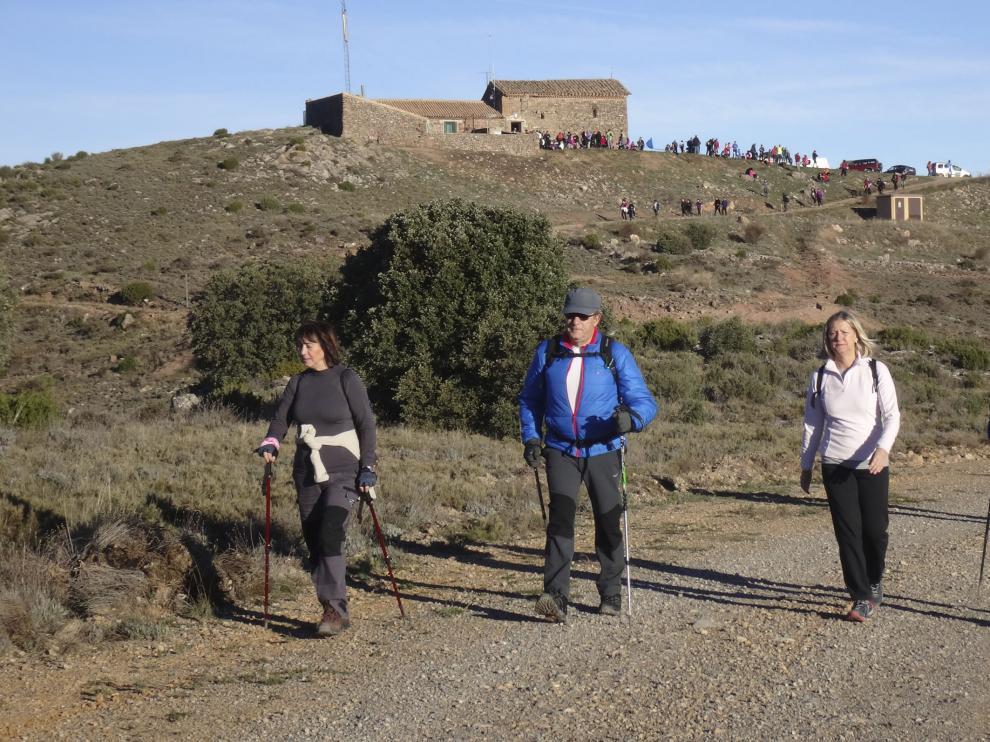 Las andadas populares fomentan la práctica del senderismo y promocionan el turismo rural.