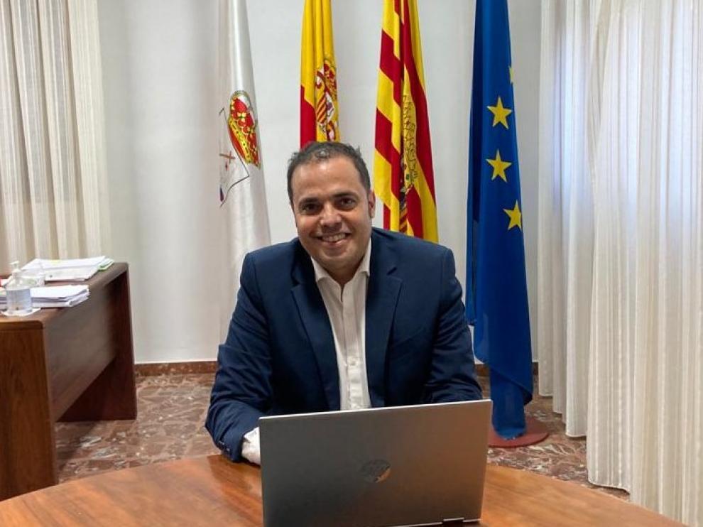 Antonio Amador Cueto. Alcalde de Andorra