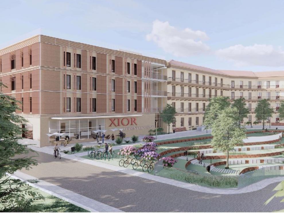 Así será la nueva residencia de Pontoneros en Zaragoza