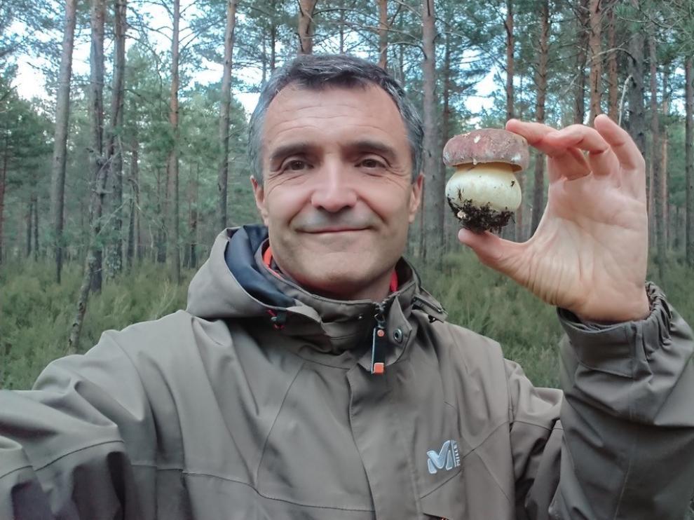 Fernando Martínez es investigador del CITA y director del Instituto Europeo de Micología.