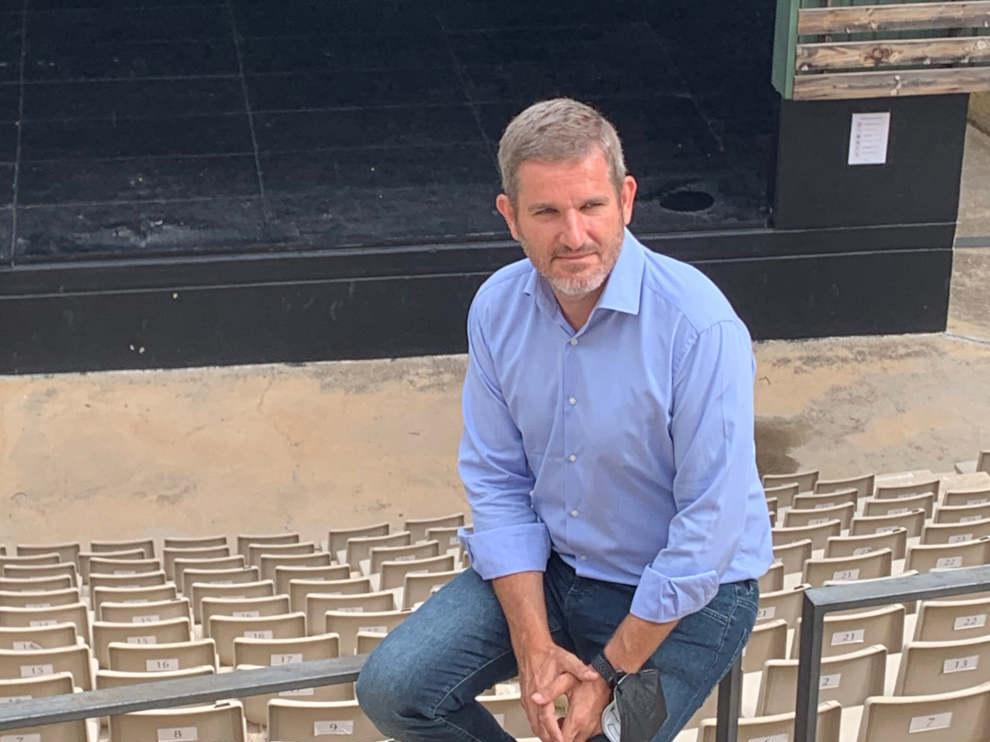 Ignacio Urquizu, alcalde de Alcañiz, quiere que las industrias se sientan seguras para instalarse en su municipio.