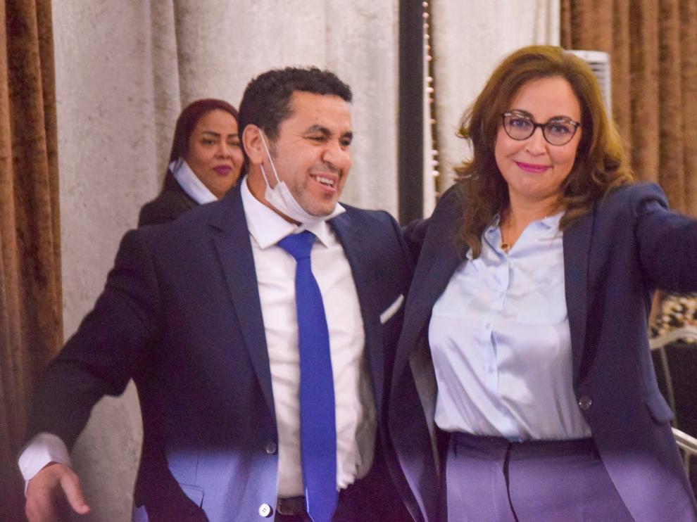 La economista y periodista marroquí Asmaa Ghlalou, primera mujer alcaldesa de Rabat.