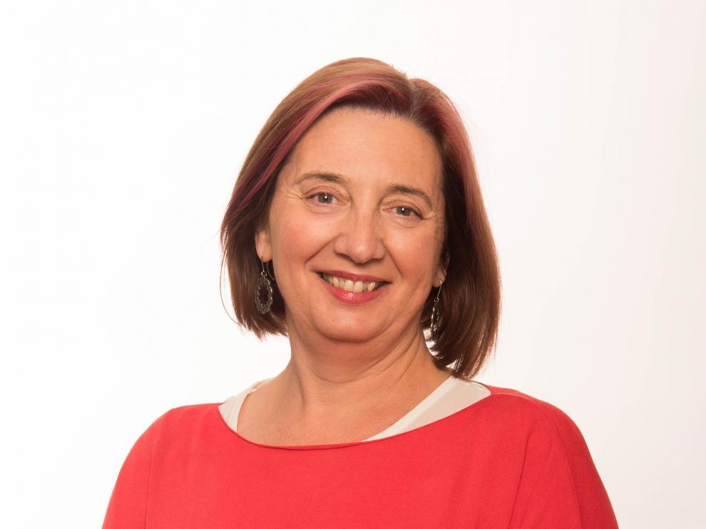 María Pilar Palacín, alcaldesa de Fuentes de Ebro.