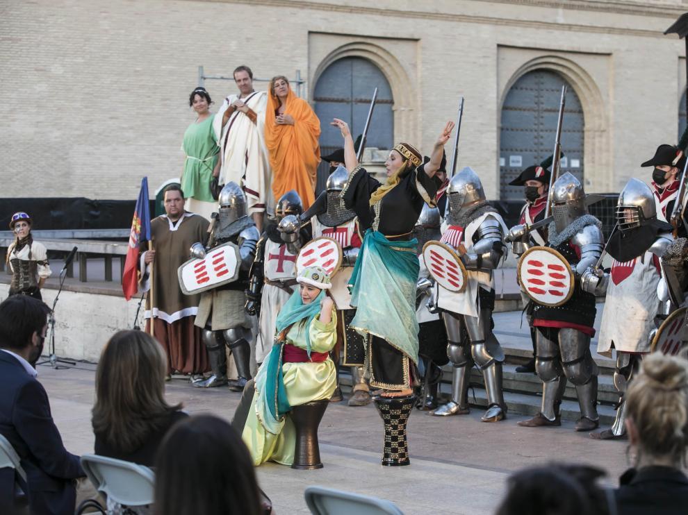 El festival dedicado a cine y series de historia, que comenzó ayer, se celebra en la capital aragonesa hasta el 2 de octubre