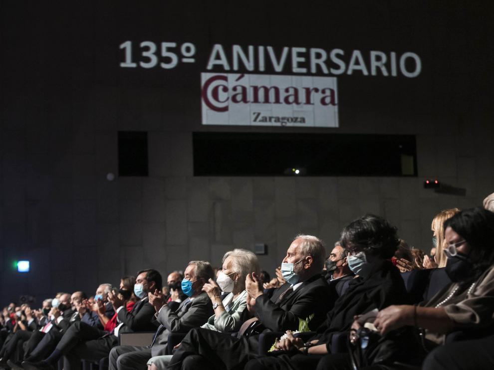 Celebración de los 135 años de la Cámara de Comercio de Zaragoza.